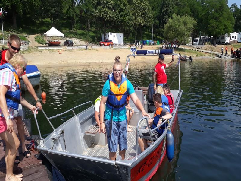Na vodě v Polsku