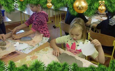 Vánoční tvoření v Bělé