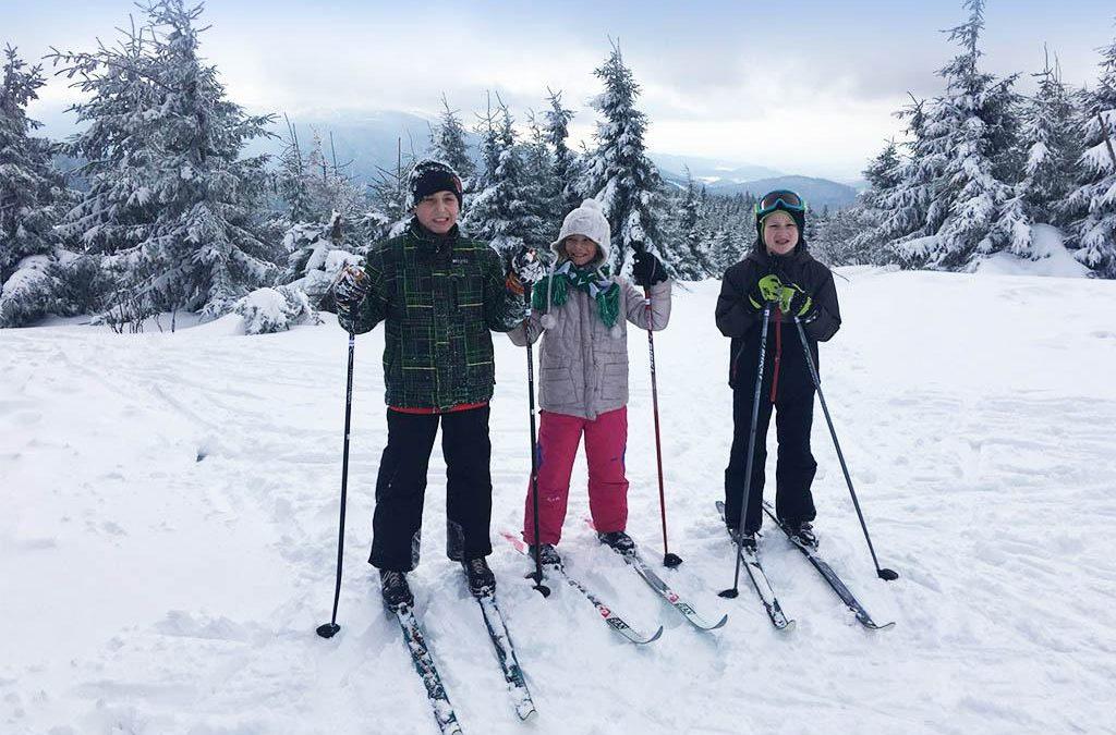 Běžkařský lyžařský výcvik na ČHS